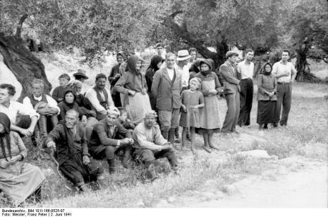Στο Κοντομαρί Χανίων διαπράχτηκε η πρώτη μαζική εκτέλεση αμάχων στην κατεχόμενη Ευρώπη. Bundes1bnh