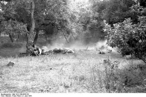 Στο Κοντομαρί Χανίων διαπράχτηκε η πρώτη μαζική εκτέλεση αμάχων στην κατεχόμενη Ευρώπη. Bundes1dd