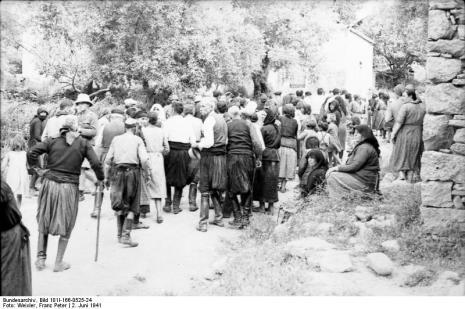 Στο Κοντομαρί Χανίων διαπράχτηκε η πρώτη μαζική εκτέλεση αμάχων στην κατεχόμενη Ευρώπη. Bundes1hnhyg