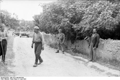 Στο Κοντομαρί Χανίων διαπράχτηκε η πρώτη μαζική εκτέλεση αμάχων στην κατεχόμενη Ευρώπη. Bundes1hy