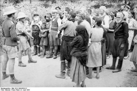 Στο Κοντομαρί Χανίων διαπράχτηκε η πρώτη μαζική εκτέλεση αμάχων στην κατεχόμενη Ευρώπη. Bundes1ytgbh