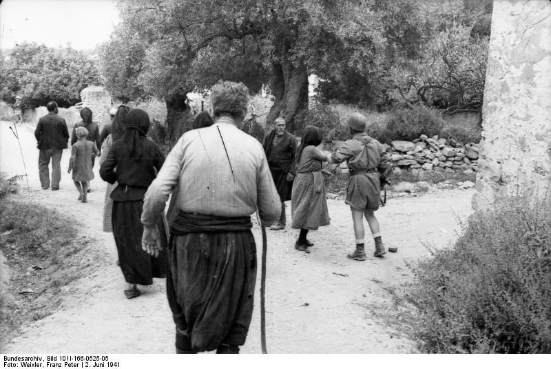 Στο Κοντομαρί Χανίων διαπράχτηκε η πρώτη μαζική εκτέλεση αμάχων στην κατεχόμενη Ευρώπη. Bundes257e2