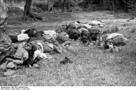 Στο Κοντομαρί Χανίων διαπράχτηκε η πρώτη μαζική εκτέλεση αμάχων στην κατεχόμενη Ευρώπη. Bundes2hhy