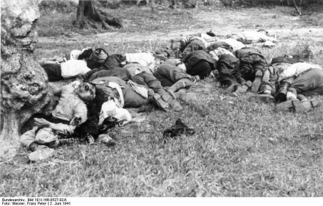 Στο Κοντομαρί Χανίων διαπράχτηκε η πρώτη μαζική εκτέλεση αμάχων στην κατεχόμενη Ευρώπη. Bundes3eee