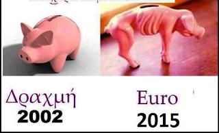 Αποτέλεσμα εικόνας για εξω απο το ευρω